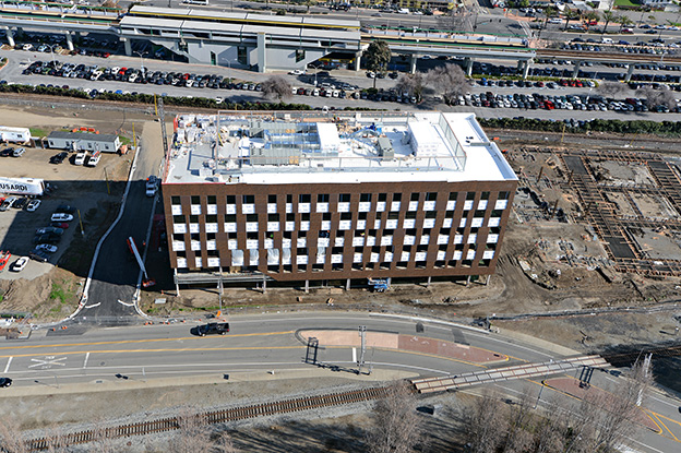 SLTC Phase 1 aerial view from the west